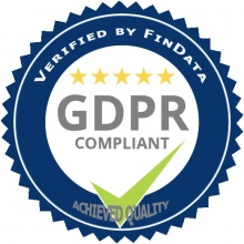 GDPR verified badge by findata v.2